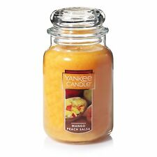 Yankee Candle 22-Ounce Jar Scented Candle, Large, Mango Peach Salsa , New, Free