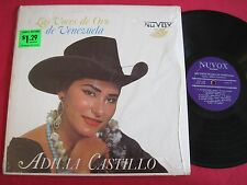 RARE LATIN LP - ADILIA CASTILLO - LAS VOCES DE ORO DE VENEZUELA - NUVOX 106