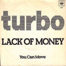 "TURBO – Lack Of Money (1979 DUTCH HARDROCK VINYL SINGLE 7"")"