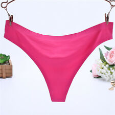 Women Ladies G-string Briefs Panties Seamless Thongs Lingerie Underwear Knickers