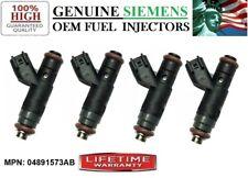 Genuine NEW 4pc Fuel Injector OEM Siemens YRS -04-06 Chrysler PT Cruiser 2.4L I4