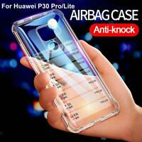 For Huawei P30 Pro Mate 20 X Shockproof Slim Clear Soft TPU Silicone Case Cover