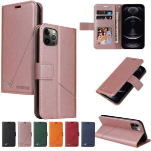 Card Wallet Leather Flip Soft Case For iPhone 13 12 Pro Max 11 XS XR 8 7 Cover