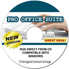 Office Deluxe Suite - Word Processing Software Suite CD