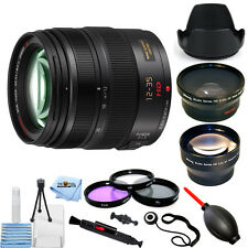 Panasonic Lumix G X Vario 12-35mm f/2.8 Asph. Lens (Black) PRO BUNDLE BRAND NEW!