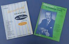 Dick Leibert and International Hits book Organ