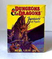 RARE Vintage 1983 Amurol Dungeons & Dragons FANTASY CANDY FIGURES Box FIGHTER