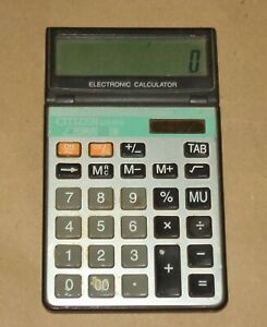 CITIZEN LH-210 – VINTAGE ELECTRONIC LCD DISPLAY CALCULATOR