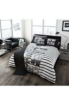 King City Stripe BIB/Bed In Bag 5 Pc Duvet Cover Set