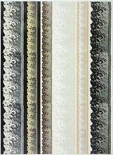 A/4 Soft DECOUPAGE carta Scrapbook foglio bordi di pizzo vintage