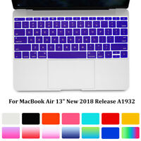 For MacBook Air 13 2018 Release A1932 Laptop Keyboard Cover Silicone Skin-Film