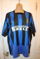 NIKE Inter Milan Internazionale Milano Soccer Home Jersey 2003-04 Men XL VTG