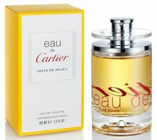 eau de Cartier ZESTE DE SOLEIL perfume edt 3.3 oz 3.4 NEW IN BOX