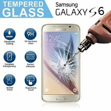 Samsung Galaxy S6 Real Tempered Glass LCD Film Screen  Protection Clear