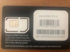 VERIZON USA Prepaid SIM card-Unlimited 10 days plan