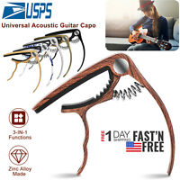 US Guitar Capo for Acoustic Electric Classical Guitar Tuning Accessories