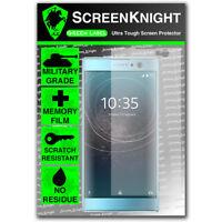 ScreenKnight Sony Xperia XA2 SCREEN PROTECTOR - Military Shield