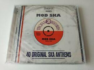 TROJAN PRESENTS: MOD SKA - 40 ORIGINAL SKA ANTHEMS 2CDs (NEW/SEALED)