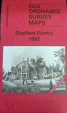 Old Ordnance Survey Map Sheffield North Yorkshire Coloured Ed 1892 S 294.04  New
