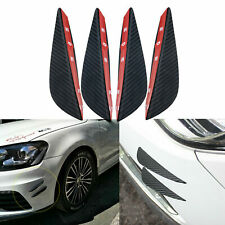 Set Carbon Fiber Pattern Spoiler Bumper Universal fit for all cars, SUVs ,Trucks