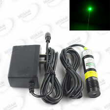 532nm 30mW-50mw Green Laser dot Module Diode w/ 3vdc adapter Stage Lighting