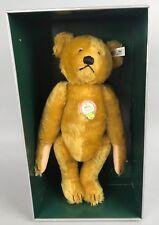 """Vintage Steiff Petsy Bear - 1927 Replica 0181/35 1989 14"""" LE 1613/5000 COA NIB"""