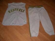 Vintage St. Mary Catholic Central Kestrels Baseball Jersey & Pants Monroe MI 40