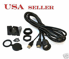 Car Dashboard Flush Mount Installation Kit HDMI USB Extension Cable HDMIU