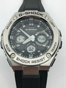 Casio Men's G Shock Stainless Steel Quartz Watch GSTS110-1A
