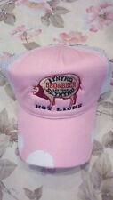 LYNYRD SKYNYRD BBQ & BEER Las Vegas -Women's Pink Trucker Hat -Pig Hot Licks NEW