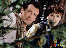 PHOTO CLIFFHANGER, TRAQUE AU SOMMET - SYLVESTER STALLONE & JANINE TURNER /11X15