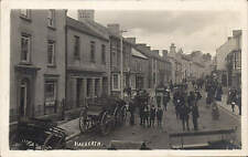 Narberth. Street & Carriages by Mortimer Allen, Photo., Tenby. Two Men.