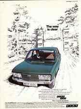 1973 FIAT 132  ~  WONDERFUL ORIGINAL EUROPEAN PRINT AD