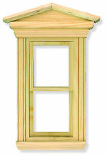 1:12 Scale Wooden Georgian Working Sash Window Frame Tumdee Dolls House 084
