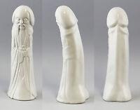 9944175 Monje China Falo Kämmer Porcelana Blanco H29cm