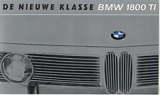 BMW  Folder  1800 TI  Sedan  Circa 1965
