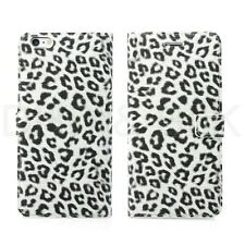 For iPhone 6 6S plus case Leopard Print PU Leather Wallet Case Credit Card Slots