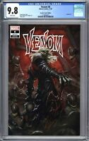 Venom #6 Skan TRADE CGC 9.8 KNULL Symbiote GOD Cates