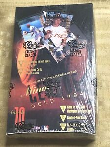 1994 Classic Best Minor League Gold Factory Sealed Wax Box