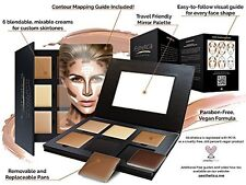 Contour Highlighting Makeup Kit Foundation Concealer Hypoallergenic Face Shading