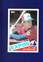 Jim Wohlford 1985 TOPPS Baseball #787 (NM+) Montreal Expos