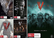 VIKINGS Season 1, 2, 3 & 4 Part 1 + 2 : NEW DVD