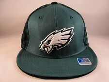 NFL Philadelphia Eagles Reebok Size 7 1 4 Fitted Hat Cap Green Black fd369ca83