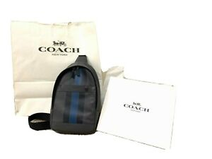 Coach Leather crossbody bag for men