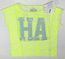 "Crewcuts J. Crew Shirt ""HA"" T-Shirt Girls Size 4-5 LBFO NEW C2073"