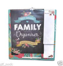 2019 Family Organiser Planner Memo Pads Pen & Shopping List 0374
