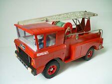 Camion de pompier en tôle Super sanson Bomberos Rico