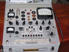 Tests 300b's Hickok Western Electric tube tester KS 15560 L2