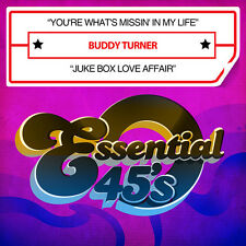 Buddy Turner - You're What's Missin in My Life / Juke Box Love [New CD] Manufact