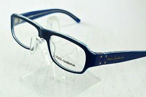 NEW Dolce & Gabbana Blue Oval Eyeglasses DG3005 638 53/17/135 Italy